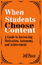 When Students Choose Content by Jeff Passe image