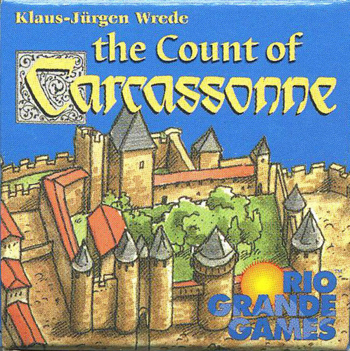 Carcassonne Expansion - The Count of Carcassonne