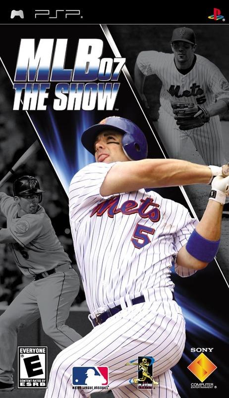 MLB '07 The Show for PSP