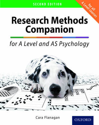 The Research Methods Companion for A Level Psychology by Cara Flanagan image