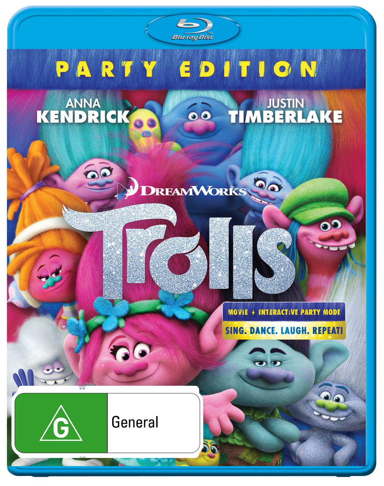 Trolls on Blu-ray image