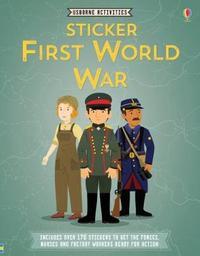 Sticker First World War by Struan Reid