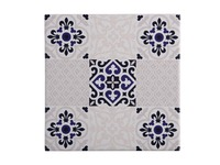 Maxwell & Williams: Medina Ceramic Square Tile Trivet - Seville (20cm)