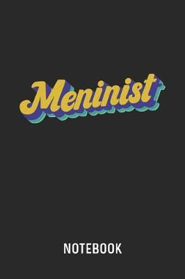 Meninist Notebook by Cadieco Publishing image