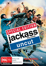 Jackass - The Movie Uncut on DVD