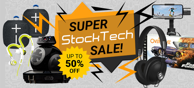 Super Christmas StockTech SALE!