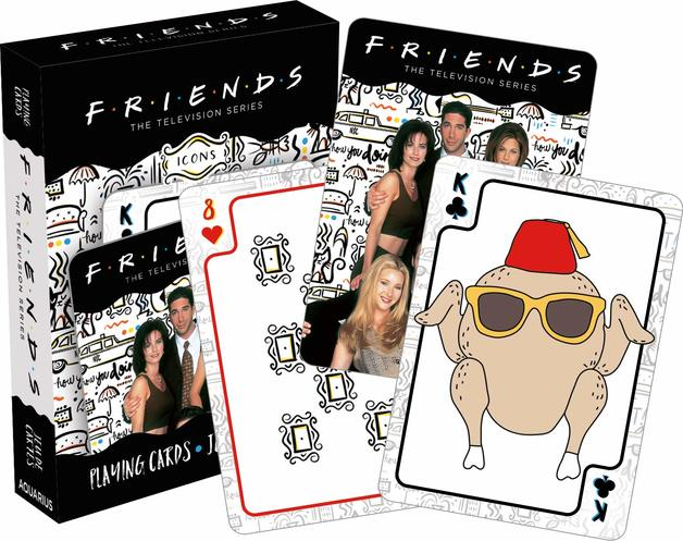 Friends – Icons Playing Cards