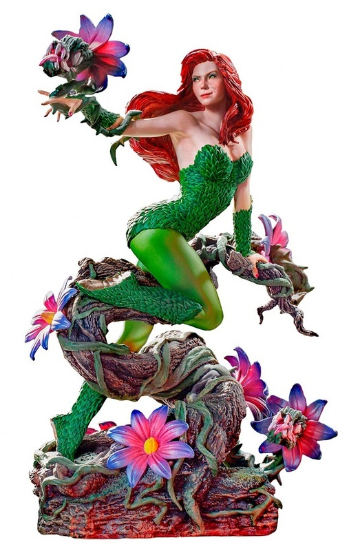 DC Comics: Poison Ivy - Deluxe Art-Scale Statue