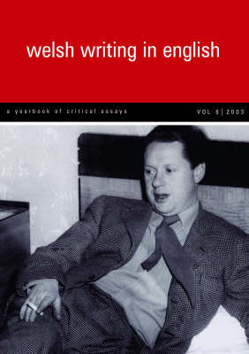 Welsh Writing in English: v.8