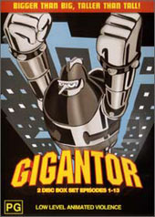 Gigantor - Collection 1 on DVD