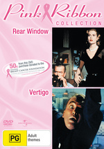 Rear Window (1954) / Vertigo - Pink Ribbon Collection (2 Disc Set) on DVD