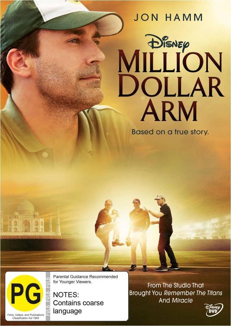 Million Dollar Arm on DVD image