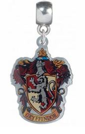 Harry Potter Charm - Gryffindor Crest (silver plated)