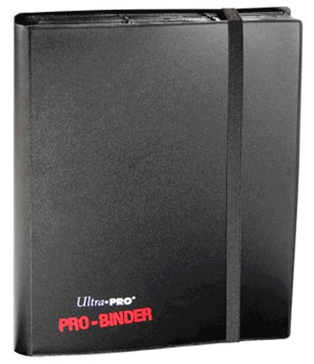 Ultra Pro: 9-Pocket Pro-Binder - Black