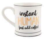 Metallic Monochrome Instant Human Mug
