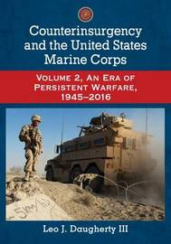 Counterinsurgency and the United States Marine Corps by Leo J Daugherty image