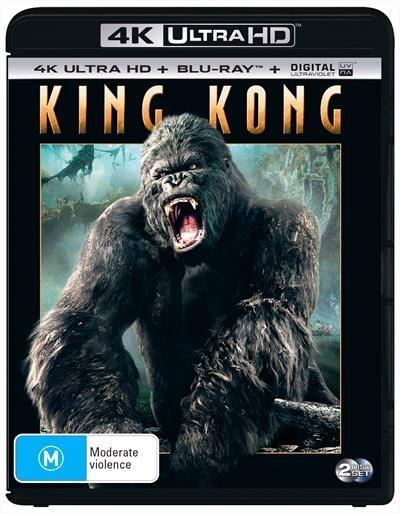 King Kong on Blu-ray, UHD Blu-ray