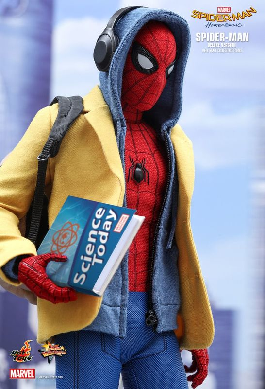 "Spider-Man: Homecoming: Spider-Man (Deluxe Ver.) - 12"" Articulated Figure"