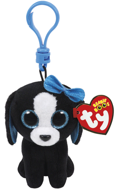 Ty Beanie Boos: Tracey Dog - Clip On Plush