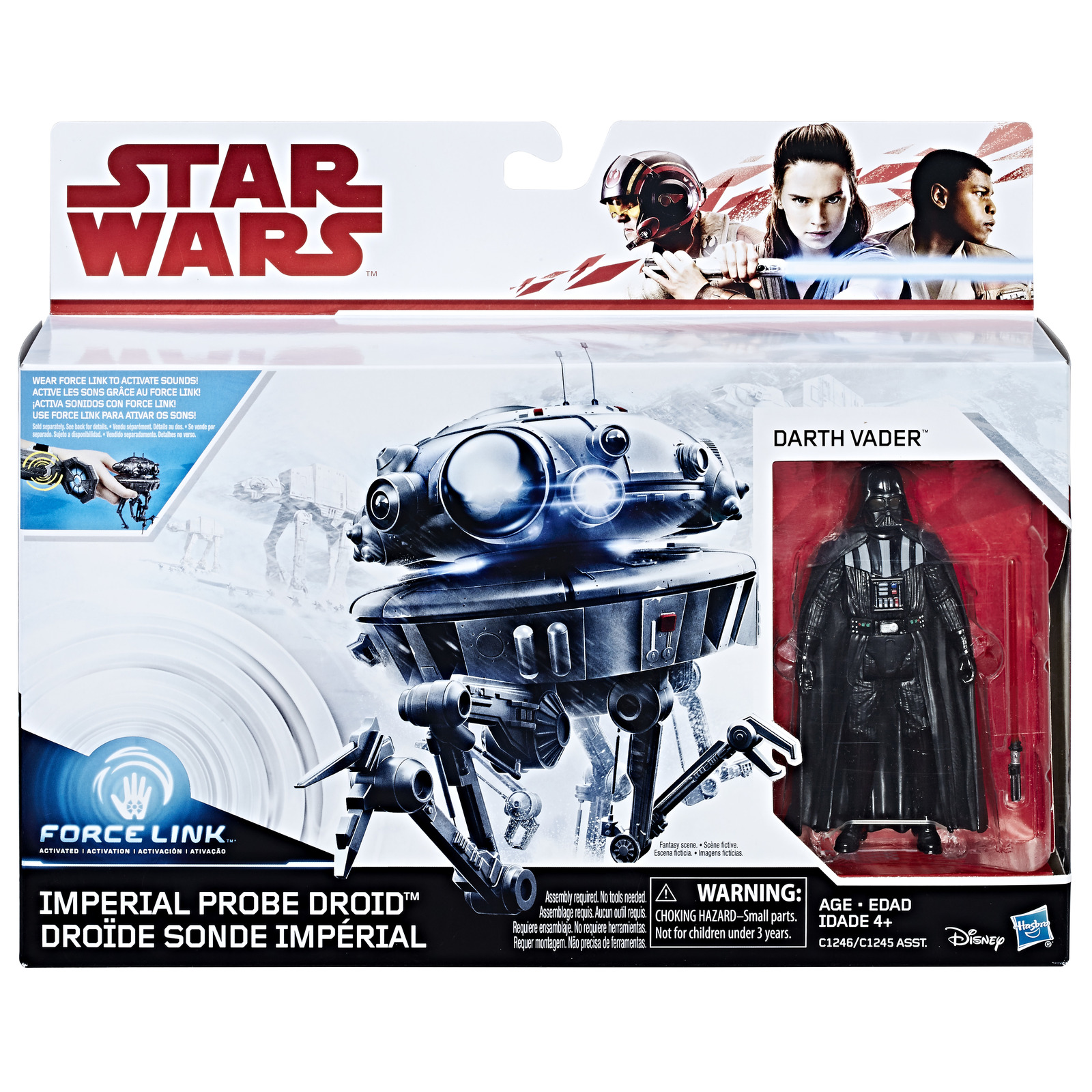 Star Wars: Force Link Figure - Droid & Darth Vader 2 Pack image