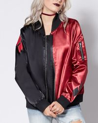 DC Comics: Harley Quinn - Bomber Jacket (XL)