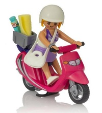 Playmobil: Special Plus - Beachgoer with Scooter (9084) image