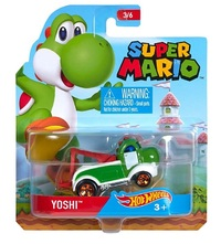 Hot Wheels: Entertainment Character Car - Yoshi