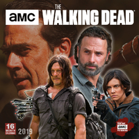 The Walking Dead 2019 Square Wall Calendar by Sellers Publishing