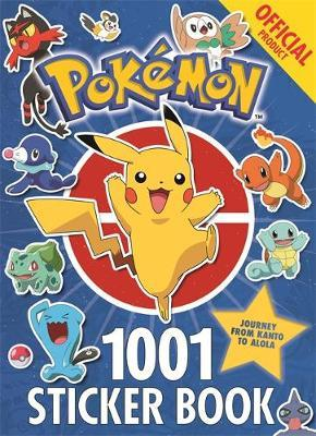 The Official Pokemon 1001 Sticker Book by Pokemon image