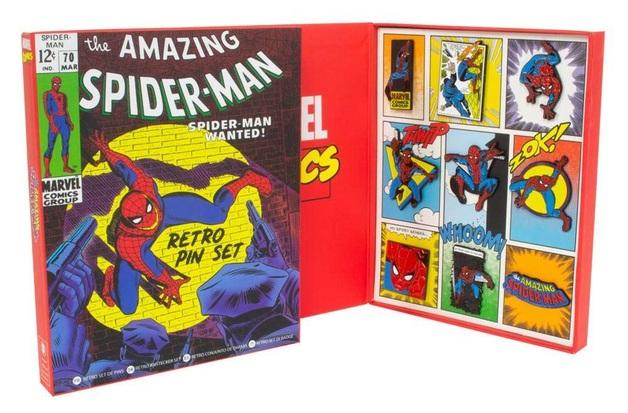 Marvel: Spider-Man - Retro Pin Set