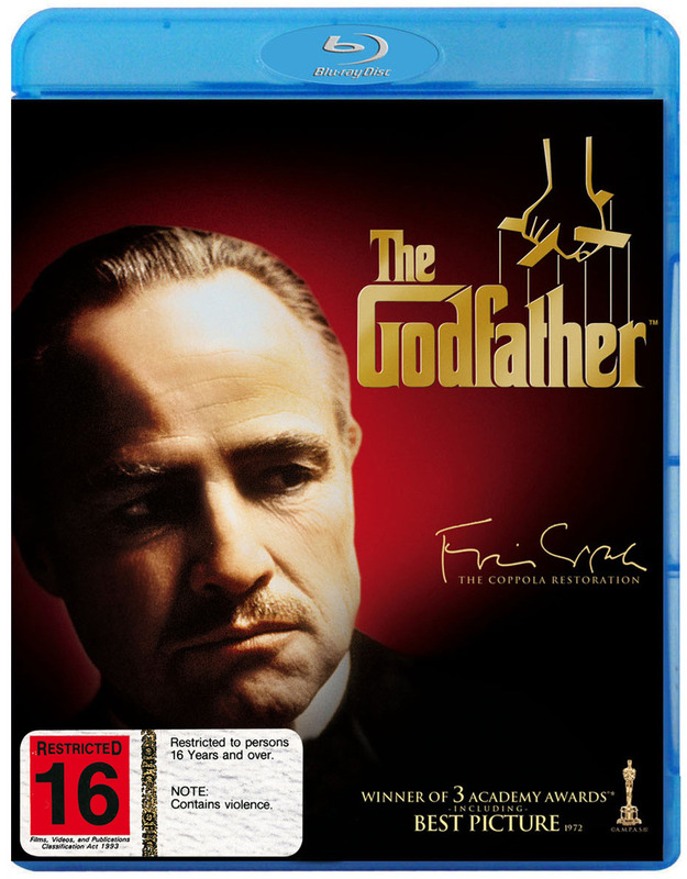The Godfather - Part 1 on Blu-ray