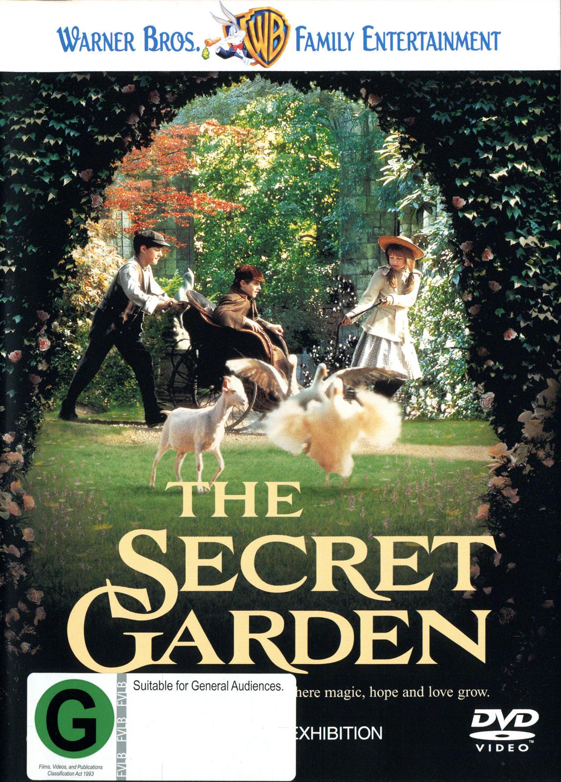 The Secret Garden on DVD image