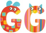 Tatiri Alphabet Letter Crazy Animal - G