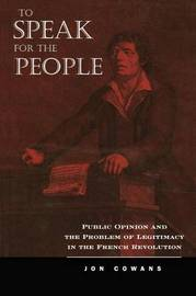 To Speak for the People by Jon Cowans