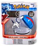 XY Pokémon Clip 'n Carry Poké Ball - Absol