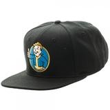 Fallout Vaultboy Black Snapback Cap