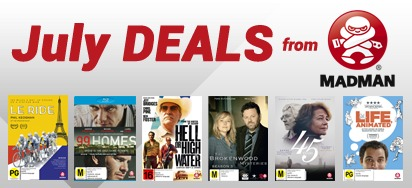 Up to 50% off Madman DVDs & Blu-ray!