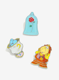 Loungefly: Enamel Pin Set - Beauty & The Beast