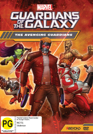 Guardians Of The Galaxy: The Avenging Guardians on DVD