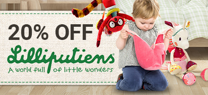 20% off Lilliputiens