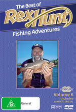 Best Of Rex Hunt Fishing Adventures, The - Vol. 6 (2 Disc Set) on DVD