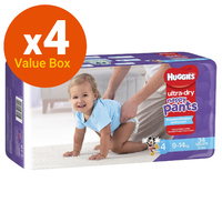 Huggies: Ultra Dry Nappy Pants Bulk Value Box - Size 4 Toddler Boy (136) image