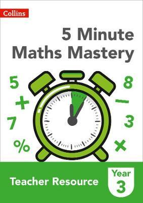 5 Minute Maths Mastery Book 3 by Collins image