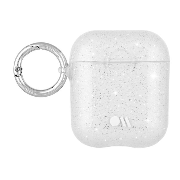 Casemate: AirPods Hook Ups Case & Neck Strap - Sheer Crystal - Clear