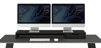 Pout EYES 9 DUAL AIO Wireless Charging and Hub Station Dual Monitor Stand Black