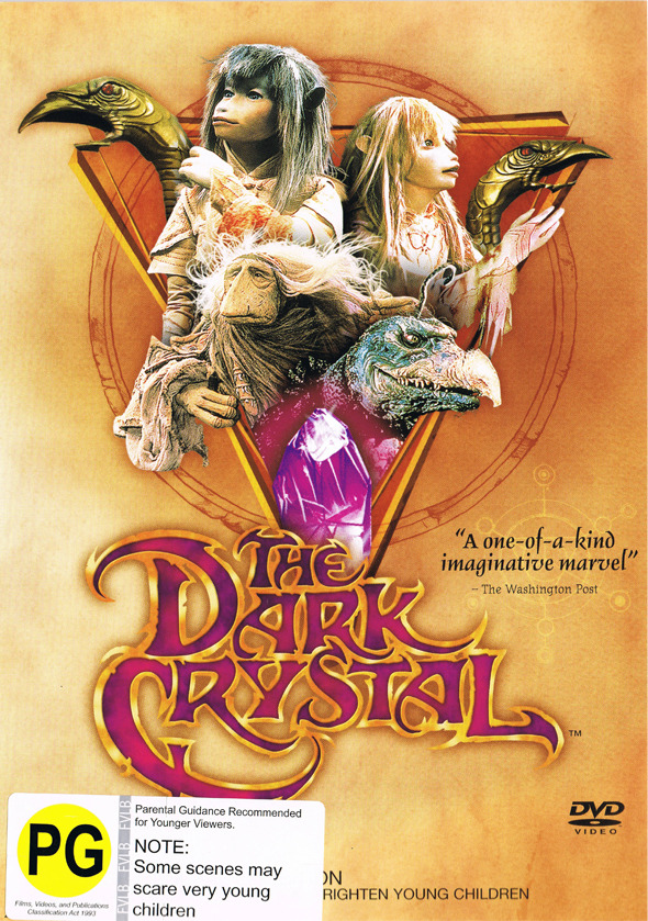 The Dark Crystal on DVD image