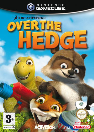 Over the Hedge for GameCube