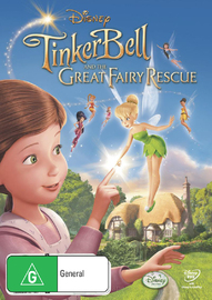 Tinker Bell and The Great Fairy Rescue on DVD
