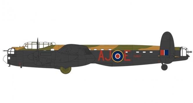 Airfix Avro Lancaster BIII 1:72 scale model kit image