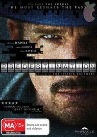 Predestination on DVD image